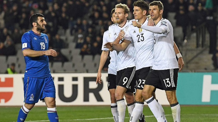Alemania se prepara para la Copa Confederaciones 2017