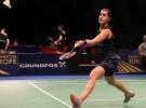 Carolina Marín, tricampeona de Europa de badminton