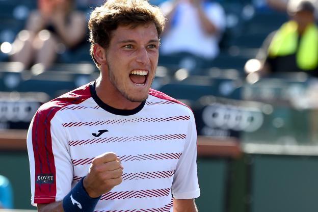 Carreno a segunda ronda en Roland Garros