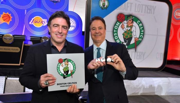Los Celtics elegirán al número uno del draft de 2017