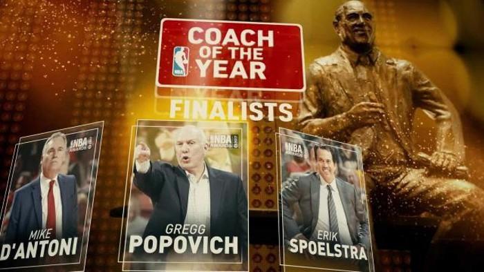 Finalistas al premio al mejor entrenador del año