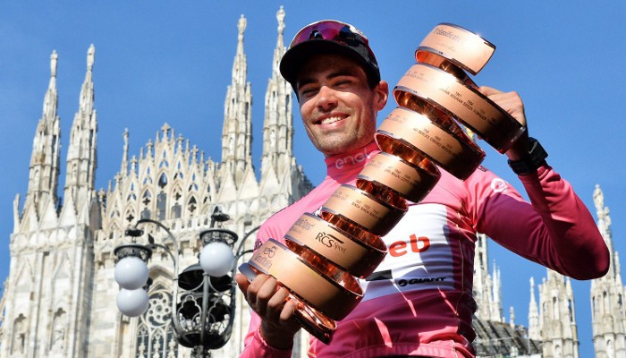Dumoulin es el ganador del Giro de Italia 2017