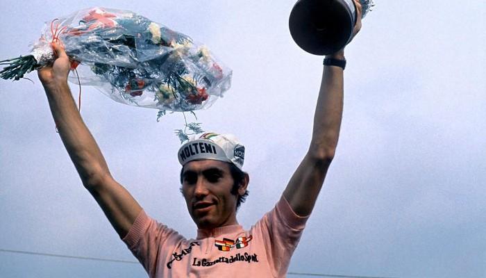 Eddy Merckx ganó el Giro en cinco ocasiones