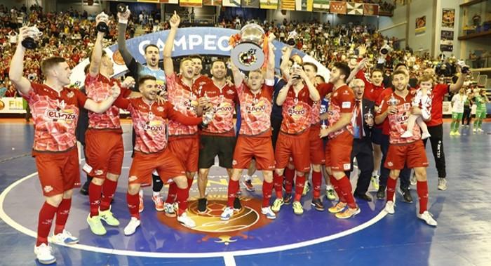 ElPozo Murcia gana la Copa del Rey 2017 de fútbol sala