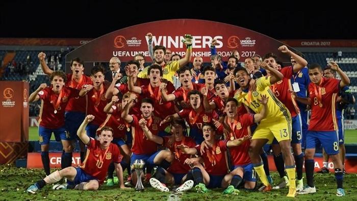 España sub 17 ganó el Europeo de 2017