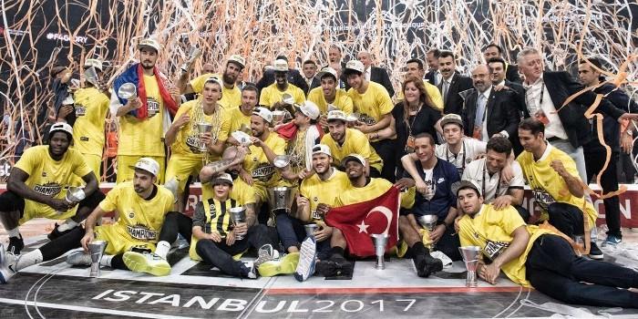 El Fenerbahçe ganó su primera Euroliga