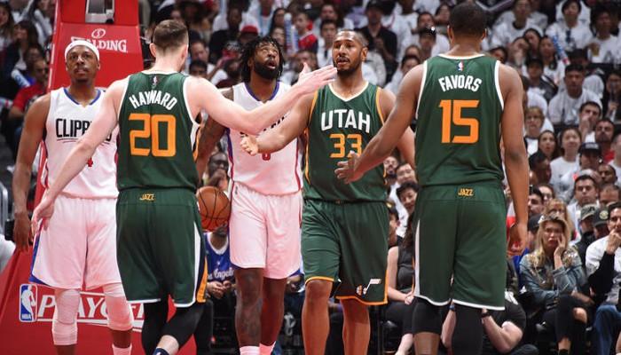 Los Jazz eliminaron a los Clippers en primera ronda