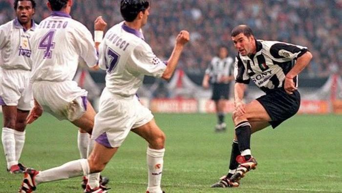 Zidane vivió como jugador un final entre Juventus y Real Madrid