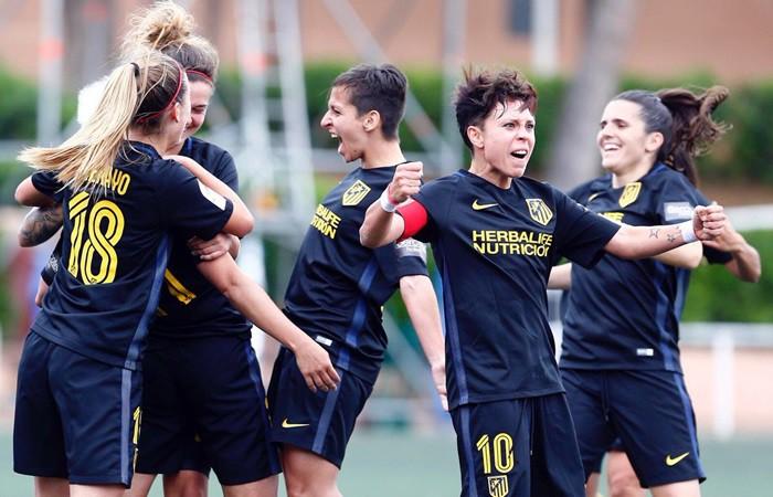El Atlético venció al Levante UD