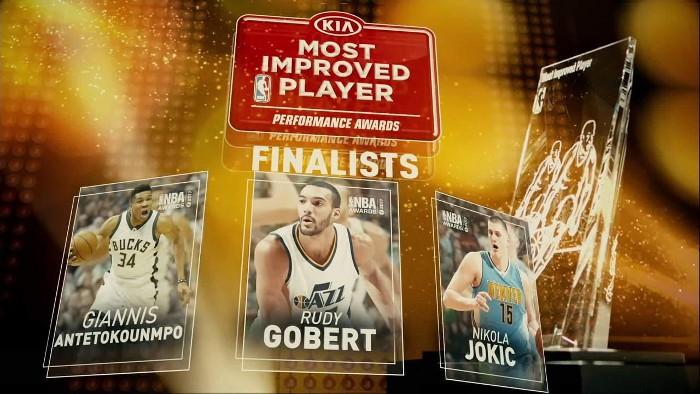 Finalistas al premio al jugador que más ha mejorado en la NBA