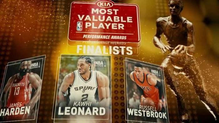 Finalistas al MVP 2017 de la NBA