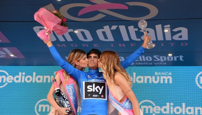 Mikel Landa ha sido el mejor escalador del Giro de Italia 2017