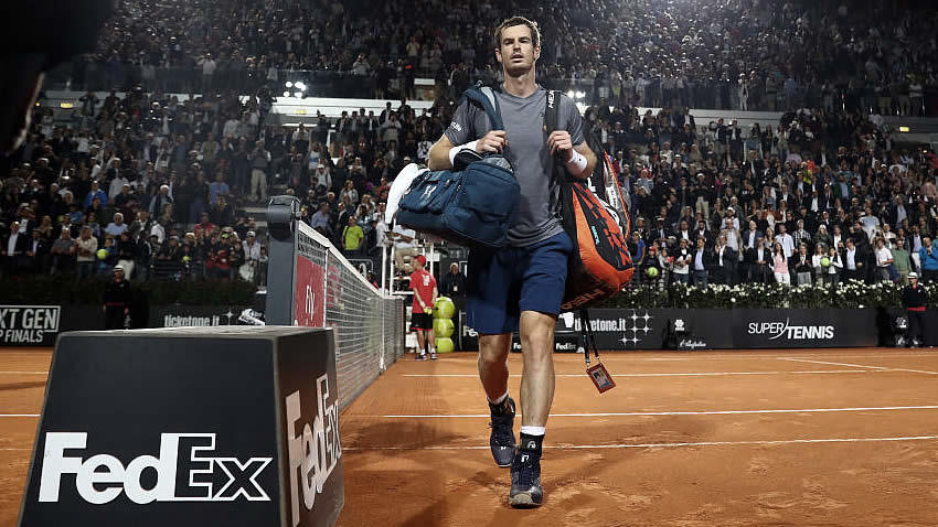 Masters de Roma 2017: Djokovic a octavos, Murray eliminado