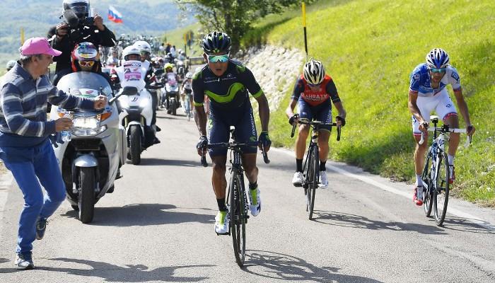 Giro de Italia 2017: Nairo Quintana líder tras la primera semana
