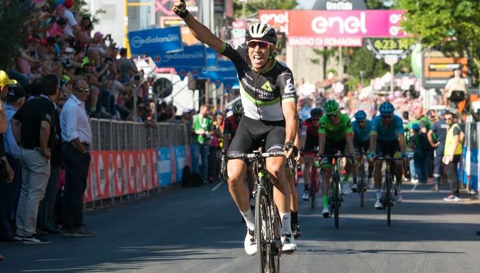 Omar Fraile ganó etapa en el Giro de Italia 2017