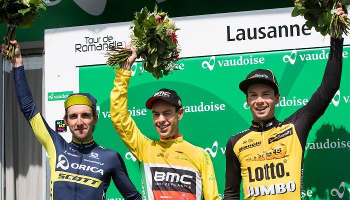 Porte, Yates y Roglic en el podio del Tour de Romandía 2017
