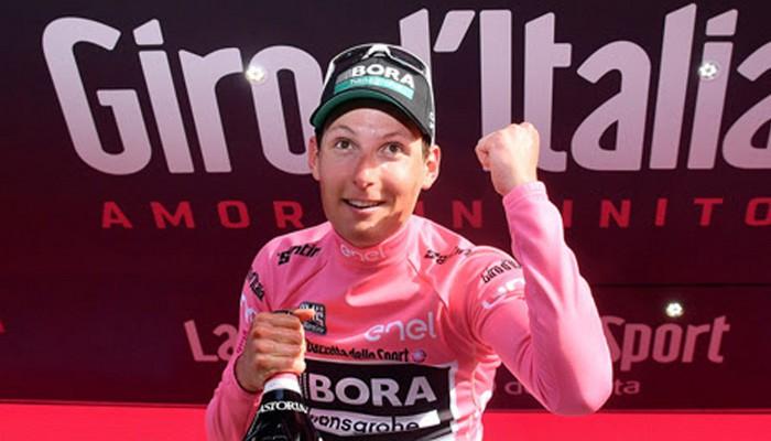 El austriaco Postlberger fue el primer líder del Giro de Italia 2017
