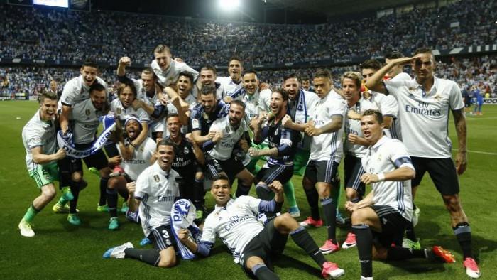 El Real Madrid ganó su Liga número 33