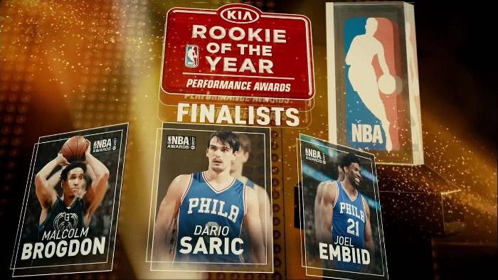 Finalistas al premio Rookie del Año en la NBA