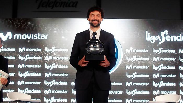 Sergio Llull es el MVP de la Liga Endesa ACB 2016-2017