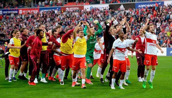 El Spartak de Moscú ganó la liga de Rusia 16 años después