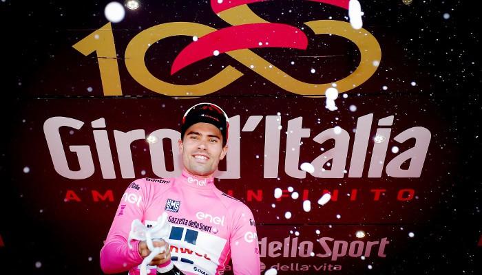 Dumoulin es el líder en el Giro de Italia 2017