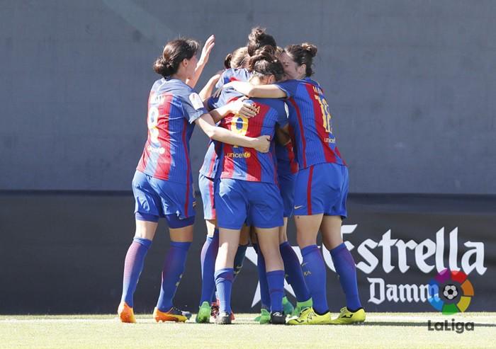 Marta Unzué dio la victoria al Barça