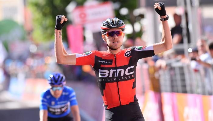 Van Garderen salva el Giro con una victoria de etapa