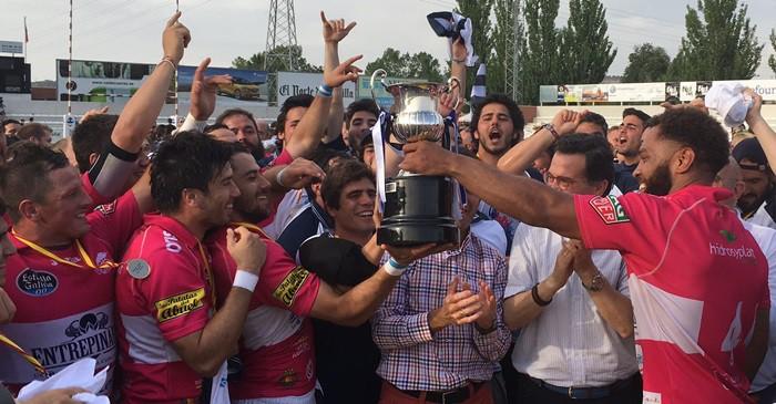 EL VRAC campeón de España de rugby