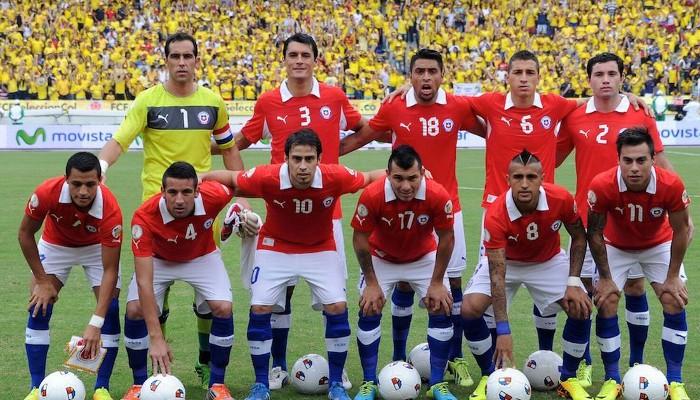 CHile se estrena en una Copa Confederaciones