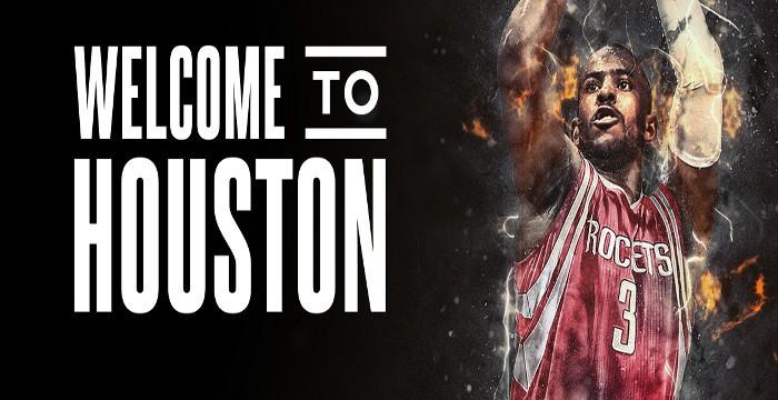 Chris Paul jugará esta temporada en Houston Rockets