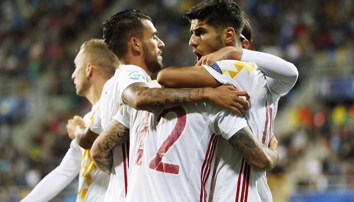 España sub 21 se ha metido en las semifinales de la Eurocopa sin perder un partido