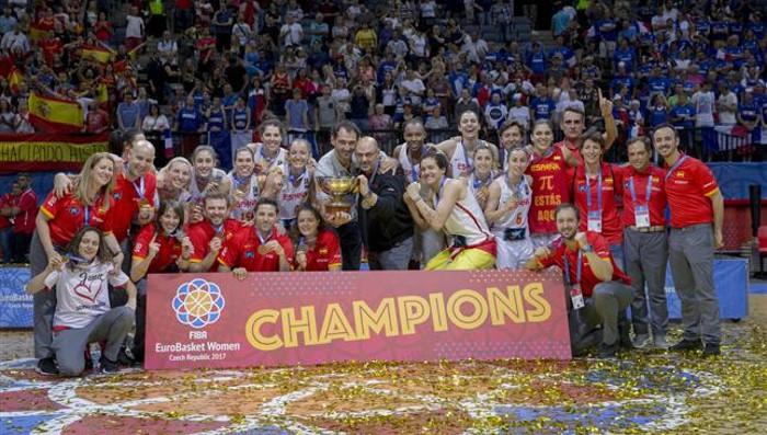 España gana el Eurobasket femenino de 2017
