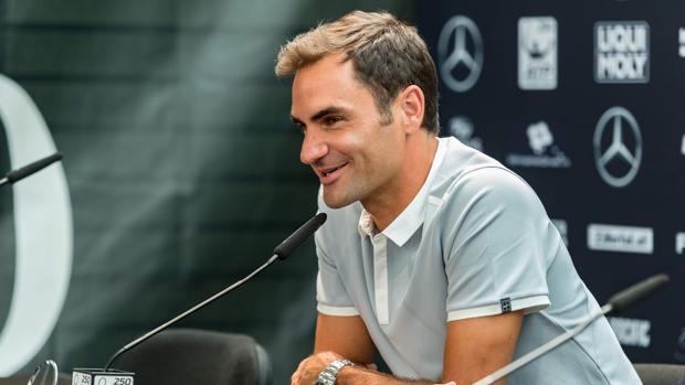 Federer habla de Rafa Nadal en Stuttgart