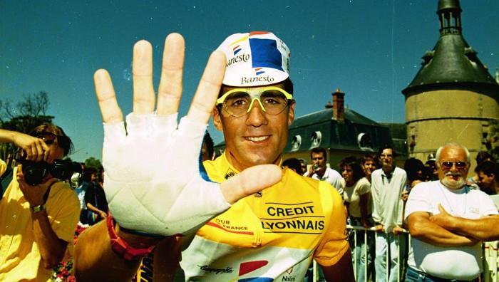 Indurain es el único en ganar cinco Tours de forma consecutiva