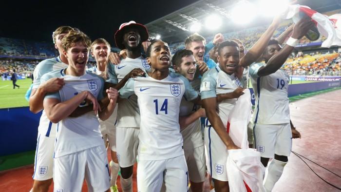 Inglaterra gana el Mundial sub 20 de 2017