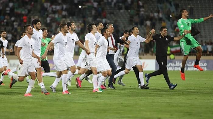 Irán ya está clasificada para el Mundial de Rusia 2018