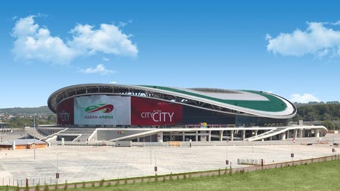 Kazan Arena es uno de los estadios de la Copa Confederaciones 2017
