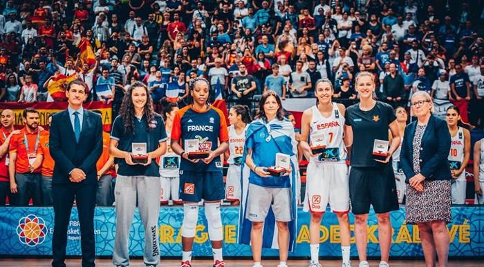 Alba Torrens fue una de las mejores jugadores del Eurobasket femenino 2017