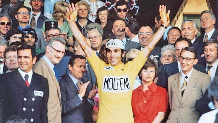 El belga Merckx ganó cinco veces el Tour