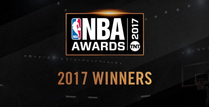 Los premios de la NBA en la temporada 2016-2017