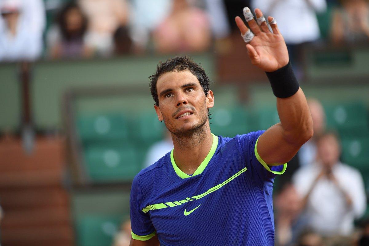 Roland Garros 2017: Rafa Nadal a cuartos de final junto a Pablo Carreño