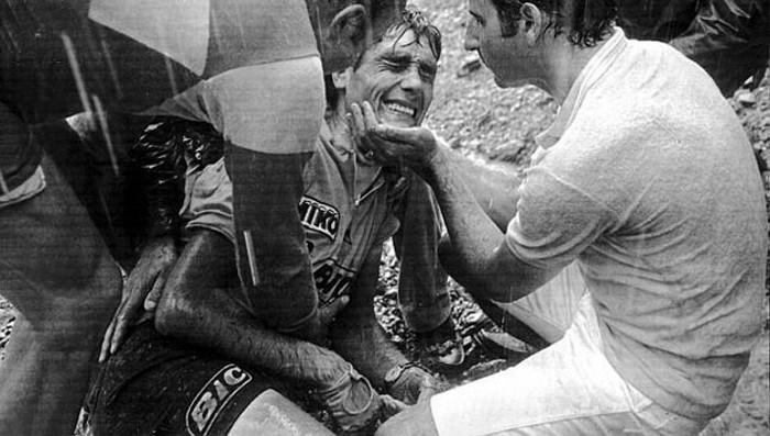 La caía de Ocaña en 1971 es uno de los momentos más recordados del Tour