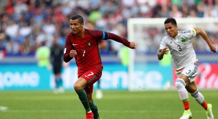 Portugal y México pasan a semifinales de la Copa Confederaciones 2017