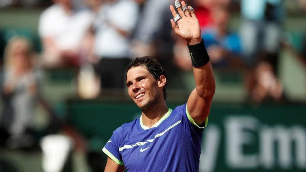 Roland Garros 2017: Rafa Nadal lidera a tres españoles en octavos junto a Djokovic