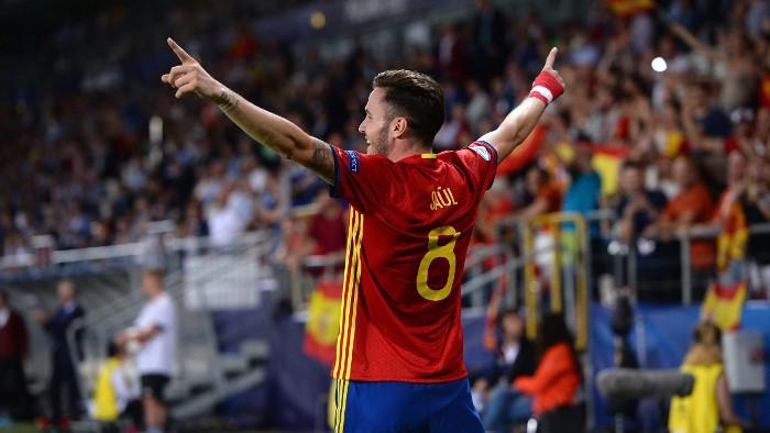 Un hattrick de Saúl Ñíguez mete a España en la final de la Eurocopa sub 21