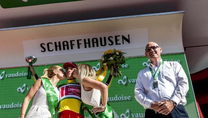 Simon Spilak ha ganado el Tour de Suiza 2017