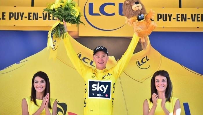 Chris Froome sigue como líder del Tour de Francia 2017