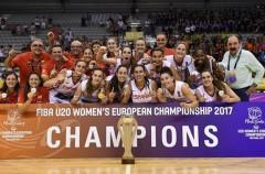 La U20 completa el ciclo con el oro en el Europeo 2017