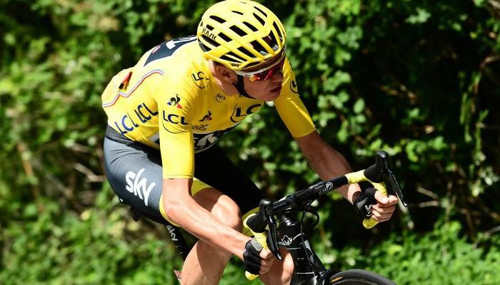 Froome ya es líder del Tour de Francia 2017